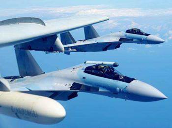 美媒:中国空军苏-35可挂超远程导弹 将成美预警机克星