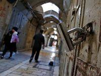 耶路撒冷举行罢工悼念巴以冲突死难者