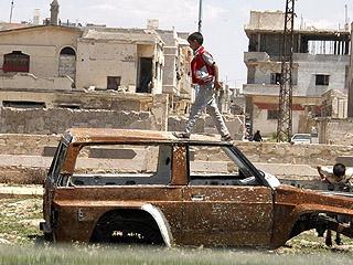 叙利亚政府全面收复中部省份霍姆斯