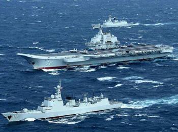 """中国壮大海军是""""威胁""""?美媒忧本国对欧亚控制被打破"""