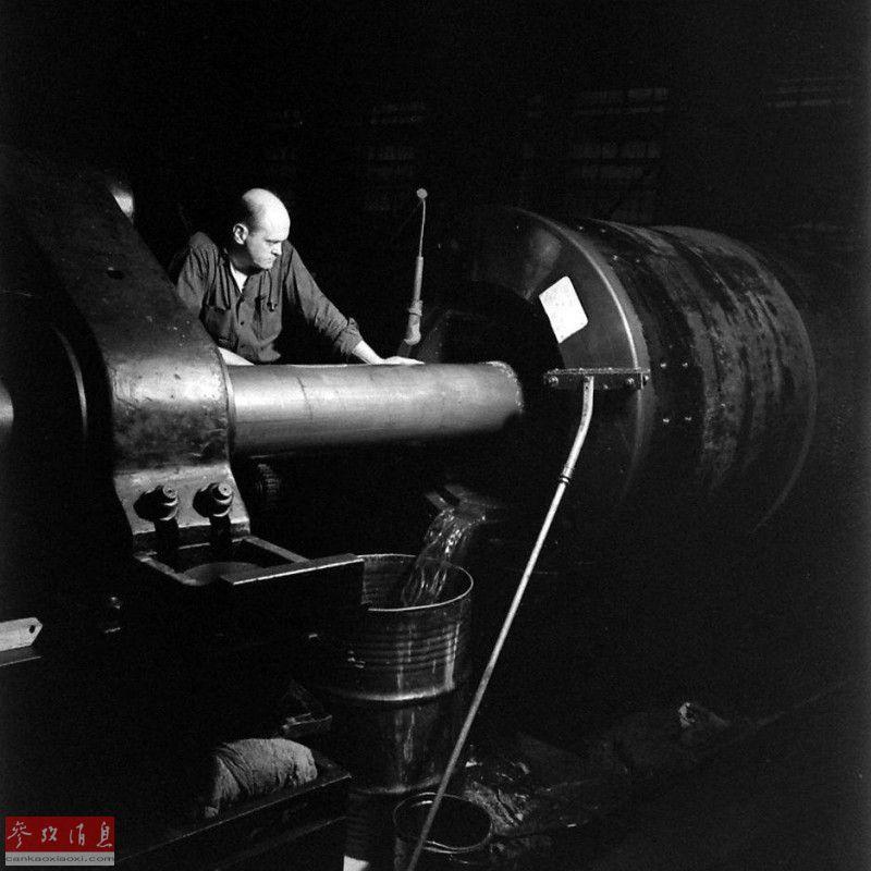 巨炮工厂!看美国如何制造406毫米舰炮