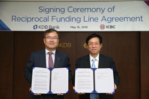 出海记|工商银行与韩国产业银行签署2亿美元拆借协议