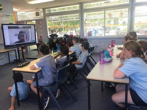 想学中文没老师怎么办?澳大利亚小学聘中国老师视频教学