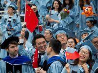 美国哥伦比亚大学举行毕业典礼