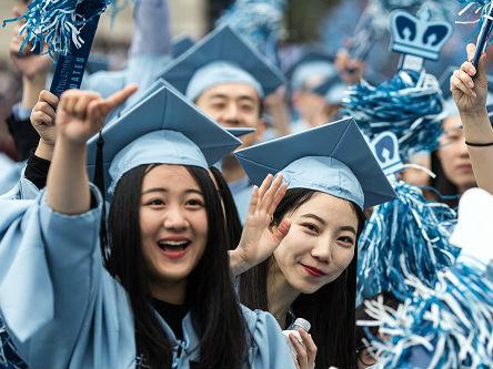 日媒:美大学对亚洲学生渐失吸引力 中日正崛起为新高教中心