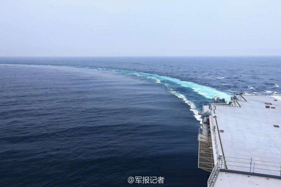 海试归来!中国首艘国产航母返回大连