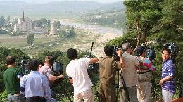 锐参考|十年前,我亲眼目睹朝鲜是这样炸毁宁边核设施冷却塔的——
