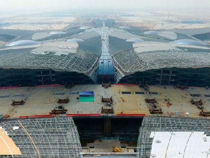 港媒称北京新机场将成全球最繁忙机场:年旅客吞吐量达1亿
