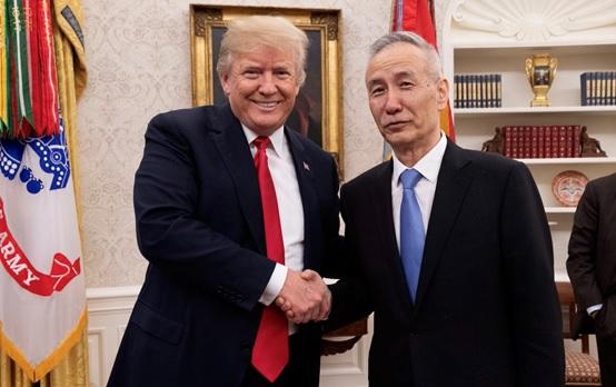 特朗普突然会见刘鹤引关注