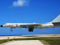 空军轰-6K战机岛礁起降训练提升海上实战能力