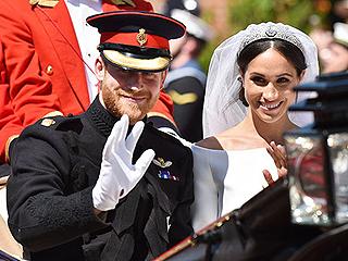 英国哈里王子与梅根·马克尔举行婚礼