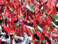 土耳其举行集会抗议以对巴民众暴力行径