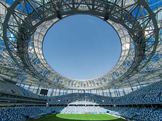 2018俄罗斯世界杯场馆巡礼:下诺夫哥罗德体育场