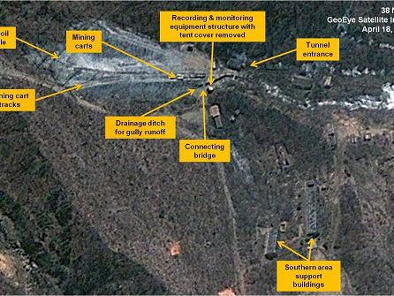 外媒称朝鲜将举行核设施拆除仪式:已为外国媒体搭起看台