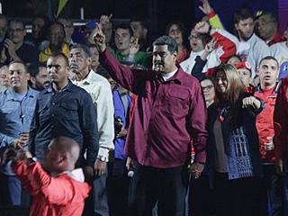 马杜罗成功连任委内瑞拉总统