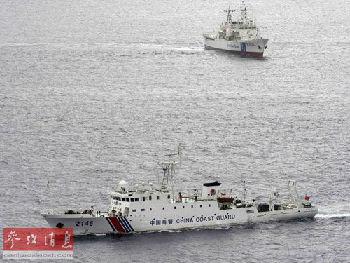 安倍出席海保观阅式:鼓舞士气 针对中国意图明显