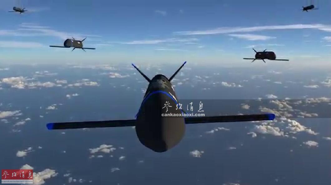 空中母舰!美新无人机可由F35组网遥控