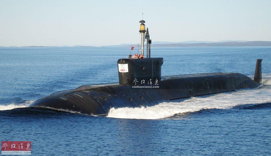 威慑美国!俄北风之神潜艇连射4枚导弹