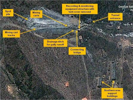 韩联社:朝鲜24日炸毁坑道拆除丰溪里核试验场