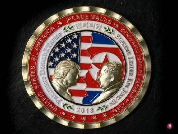"""白宫""""特金会""""纪念币成特价商品 网友:纪念币太""""早产"""""""