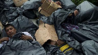 暴力程度超乎想象 中美洲难民人数创新高