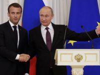 俄法同意加强经贸与中东问题合作