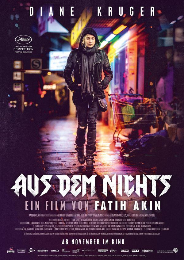 《凭空而来》德语版电影海报