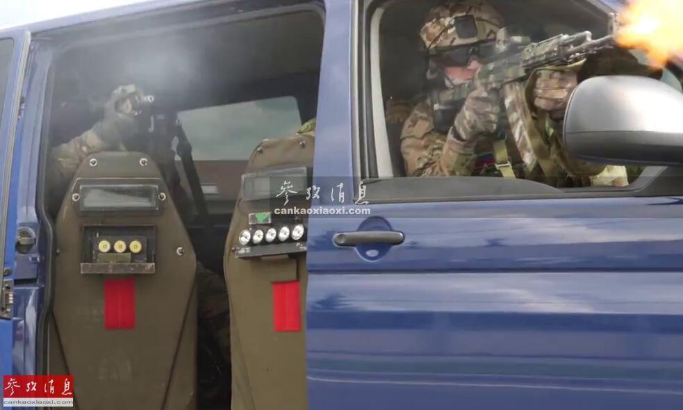 不留活口!俄军特战队公路扫射可疑车辆