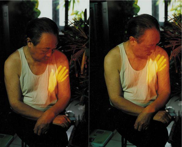图说四 宋冬1997年第一次抚摸父亲