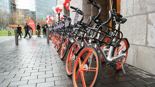 墨西哥偷车贼盯上中国共享单车 当地车辆频失窃