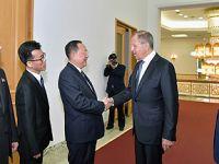 俄罗斯外长拉夫罗夫访问朝鲜