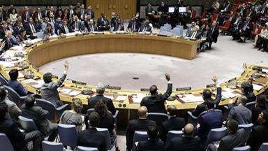 联合国安理会未能通过关于保护巴勒斯坦人的决议草案