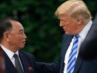 特朗普说美朝领导人会晤将如期举行
