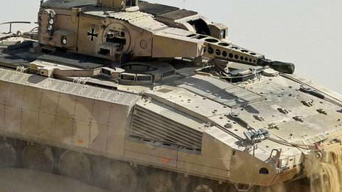 """打造新型""""闪电战"""" 利器!德将换装""""美洲豹""""步战车"""