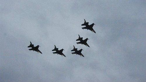 """台媒:台军一架F-16战机在""""汉光演习""""中失联"""
