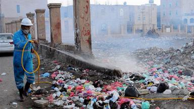 也门萨那防控霍乱