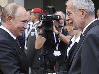 俄罗斯总统普京访问奥地利 与范德贝伦举行会谈
