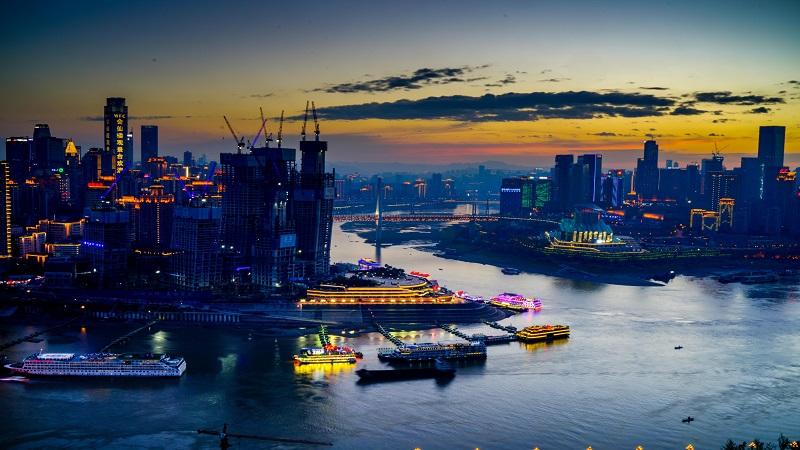 """英媒关注重庆""""横向摩天楼"""":或为解决城市拥挤找到答案"""