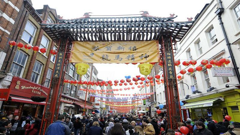 英媒称欧洲最古老唐人街日渐没落 正在挣扎求存