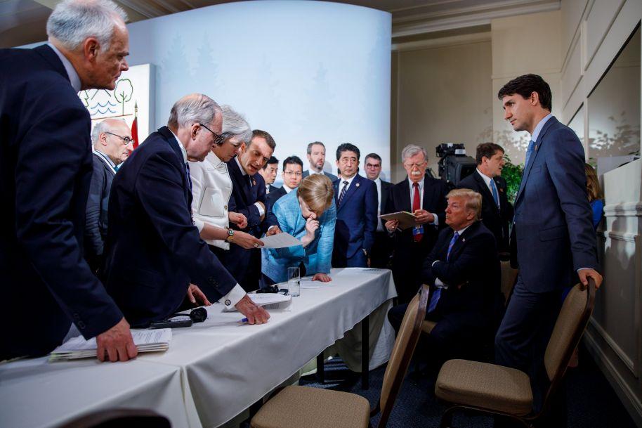 """G7峰会被指""""彻头彻尾""""失败"""