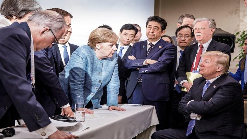 """特朗普发推怒怼特鲁多 外媒:G7峰会""""彻头彻尾""""失败"""