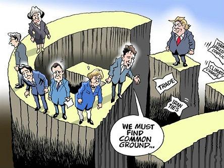 G7峰会,共识难寻