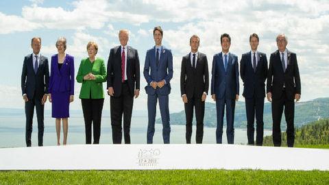 """外媒:美德法为G7峰会失败争吵不休 加美交锋""""愈演愈烈"""""""