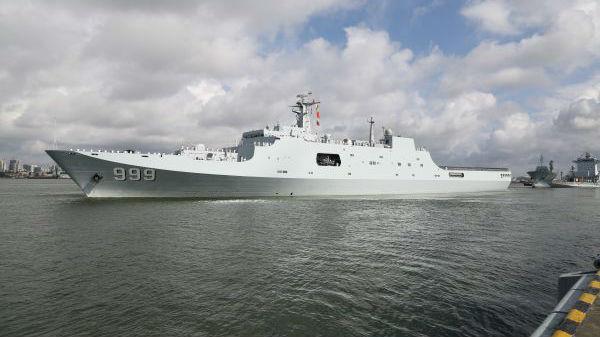 美媒:中国军力向全球布局迈进 兵力投送能力增强