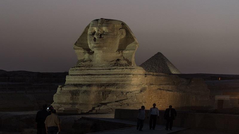 """港媒称河北狮身人面像""""复活"""" 埃及:对文化遗产的侮辱"""