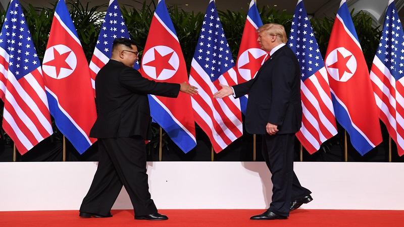 外媒:美朝首脑历史性会晤吸引世界目光