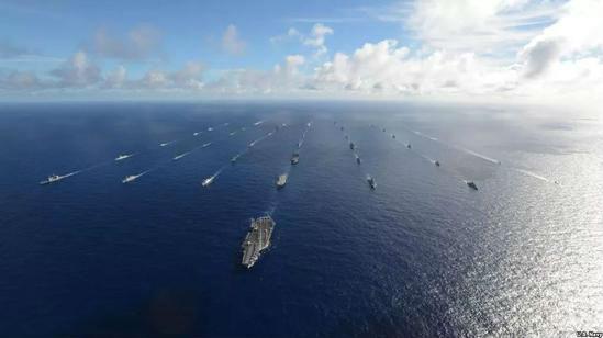 """700亿美元大生意!美媒称西方拟建""""新太平洋舰队""""反制中国"""
