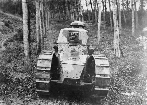 资料图:法国FT-17轻型坦克。