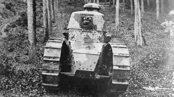 德军的催命符!外媒揭秘一战法国FT坦克:永久改变战争