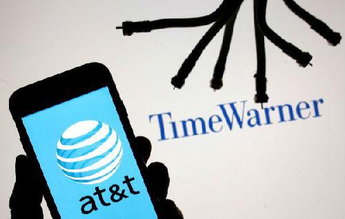 美国电话电报公司和时代华纳公司的标志。